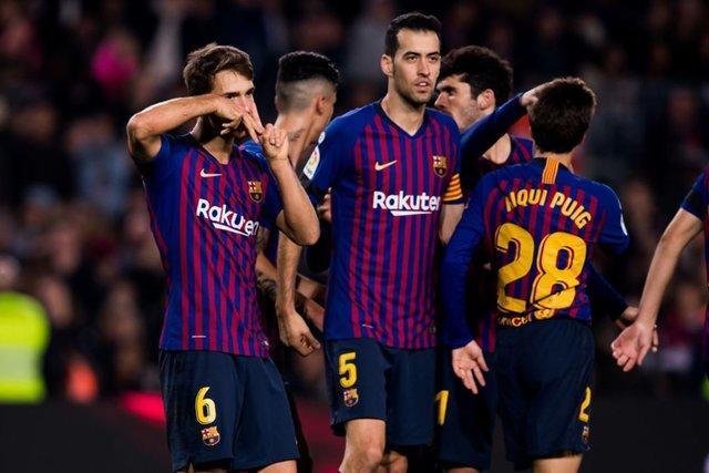 صعود بارسلونا و اتلتیکو مادرید به یک هشتم نهایی کوپا دل ری