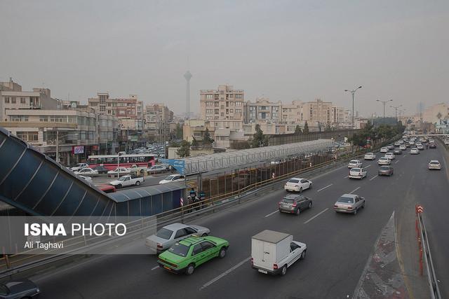 افزایش غلظت ازن در هوای تهران ، هوا برای حساس ها نامطلوب است