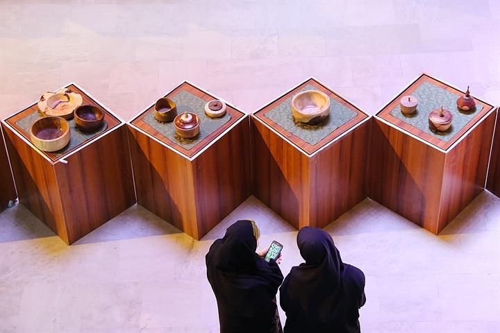 سازمان میراث فرهنگی میزبان نمایشگاه خراطی دانشجویان دانشگاه سوره