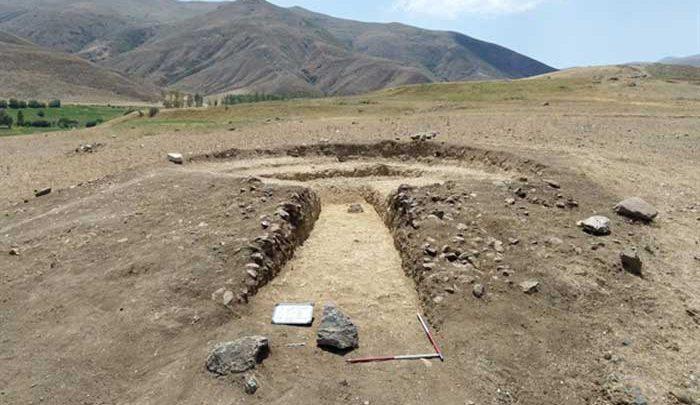 کشف نشانه هایی از سوزاندن اجساد در هزاره اول پیش از میلاد در آذربایجان شرقی