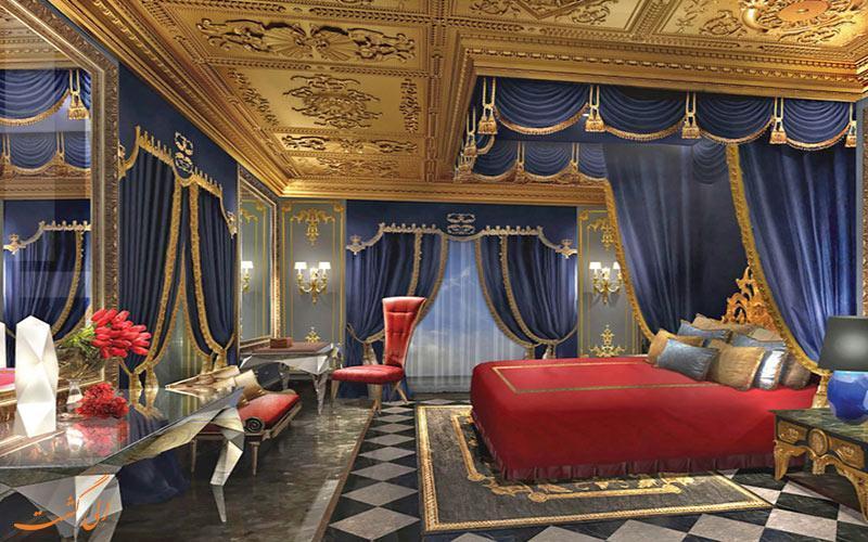 لوکس ترین هتل جهان در چین افتتاح می گردد