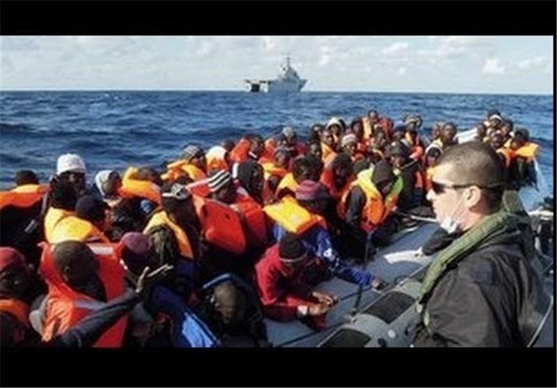 ایتالیا 4 هزار مهاجر را در دریای مدیترانه نجات داد