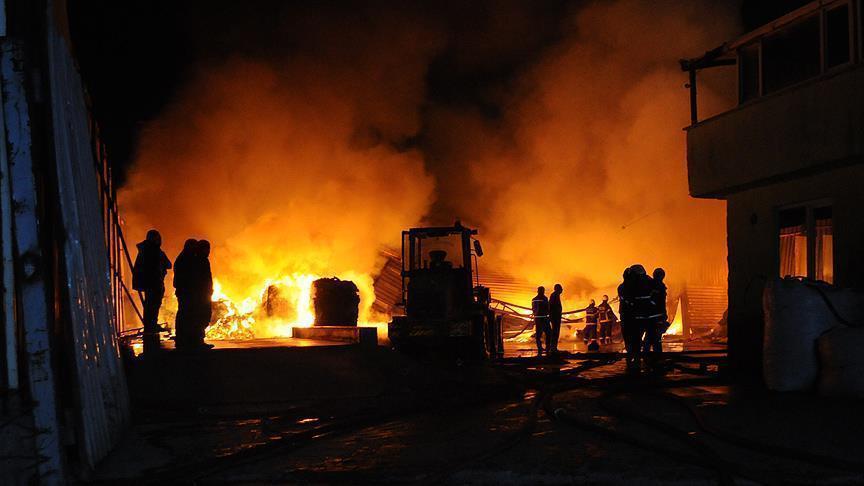 آتش سوزی یک واحد مرغداری در سرخه مهار شد