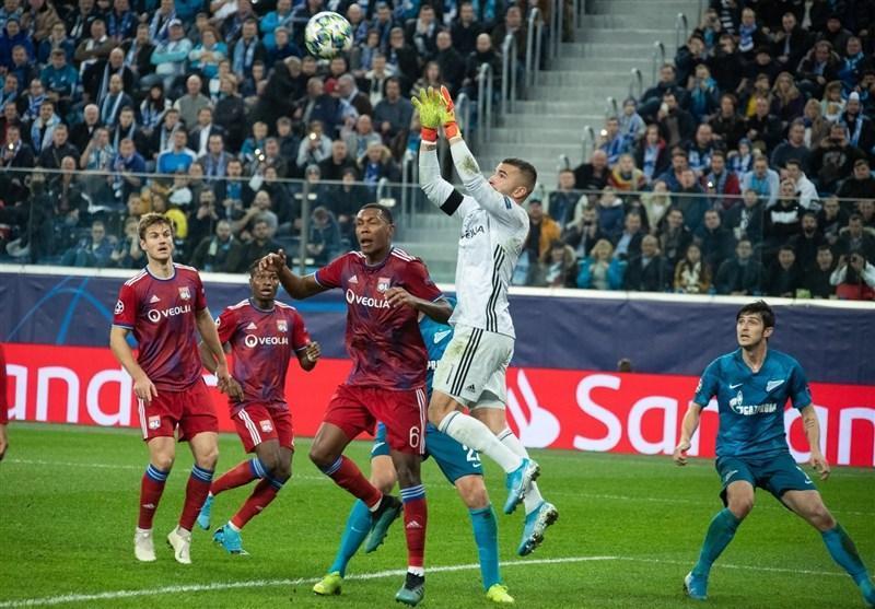 گام بلند زنیت برای صعود در لیگ قهرمانان اروپا