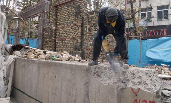 نکات تخریب دیوار منزل و ترمیم سقف