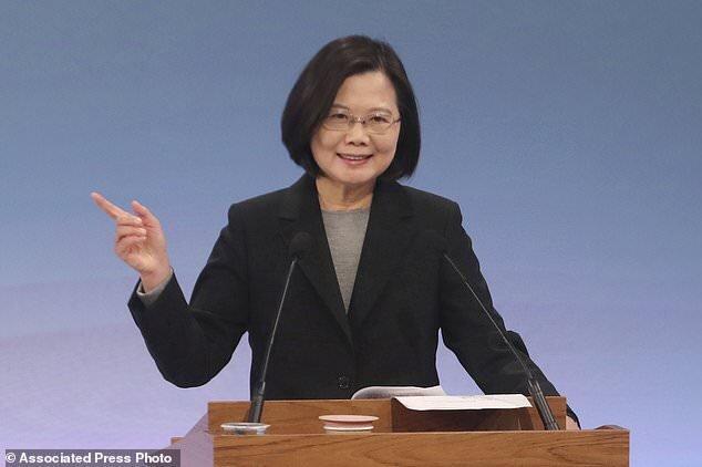 رئیس جمهوری تایوان: دموکراسی کشور در معرض تهدید چین است