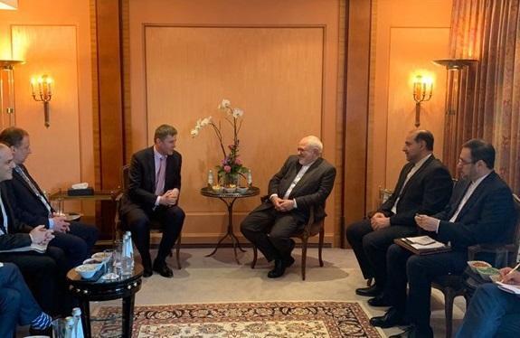 ملاقات و گفتگوی ظریف با وزیر خارجه چک در مونیخ