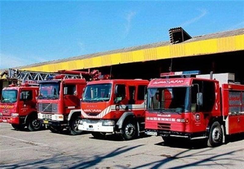 آتش سوزی پارکینگ بورس تهران خسارت نداشت