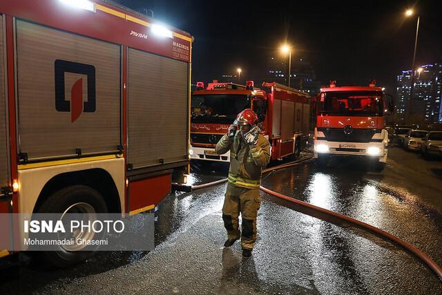یک جانباخته و یک مصدوم در آتش سوزی منزل مسکونی
