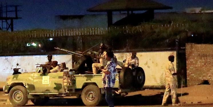 سرنگونی یک پهپاد بر فراز منزل رئیس شورای حاکمیتی سودان