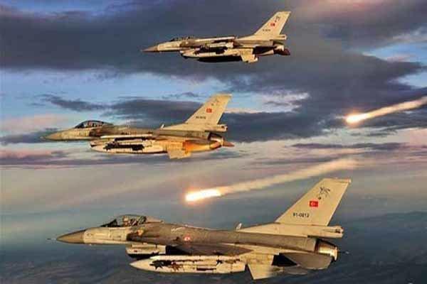 7 تروریست پ ک ک در شمال عراق از پا درآمدند