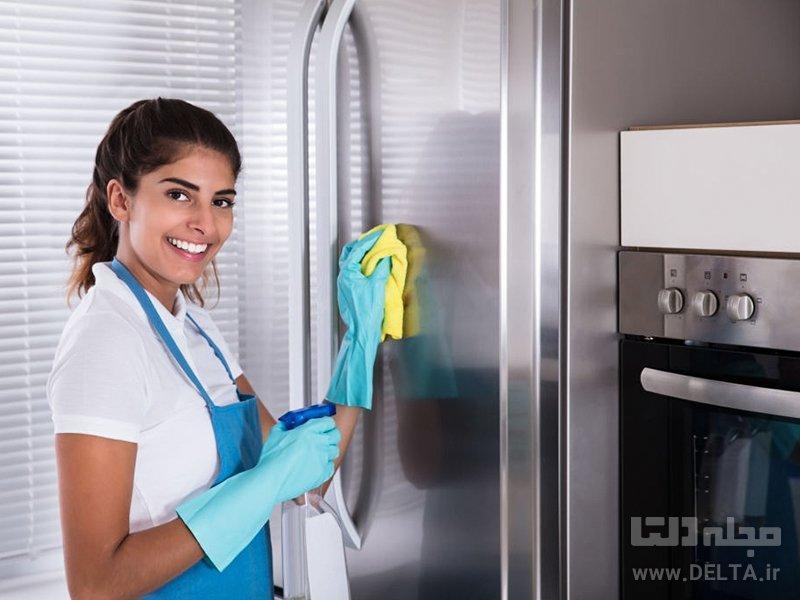 تمیز کردن وسایل برقی آشپزخانه با مواد طبیعی