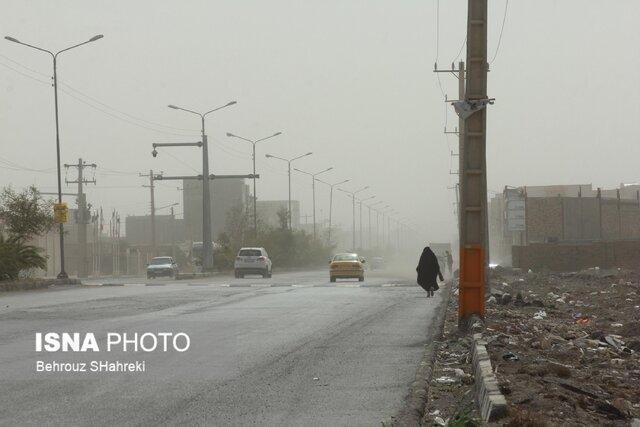 طوفان غلظت غبار در هوای زابل را به 22 برابر مجاز رساند