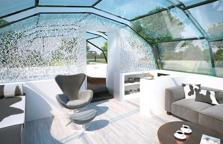 خانه های آینده ؛پروژه ای زیبا اما عجیب و غریب