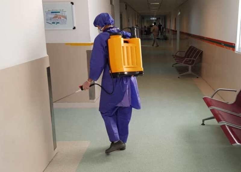 خبرنگاران نیروهای خدمات بیمارستان ، پیشقراول مقابله با کرونا