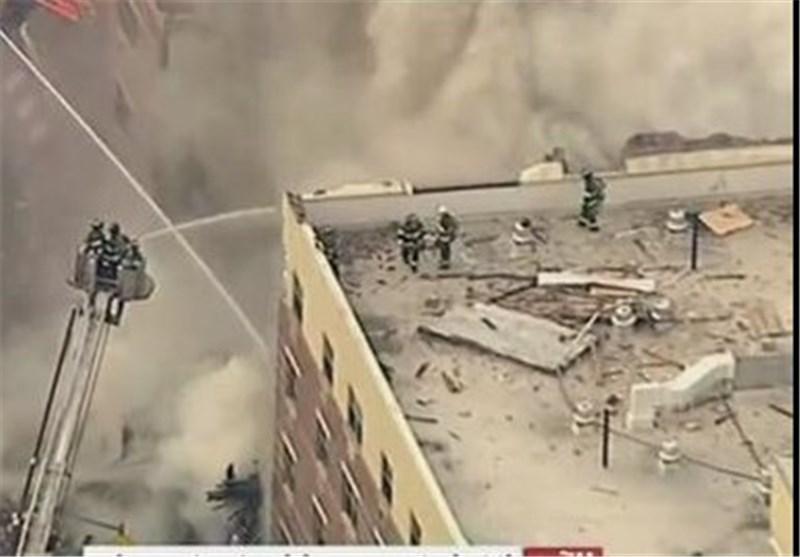 زخمی شدن 11 نفر بر اثر انفجار ساختمان مسکونی در نیویورک