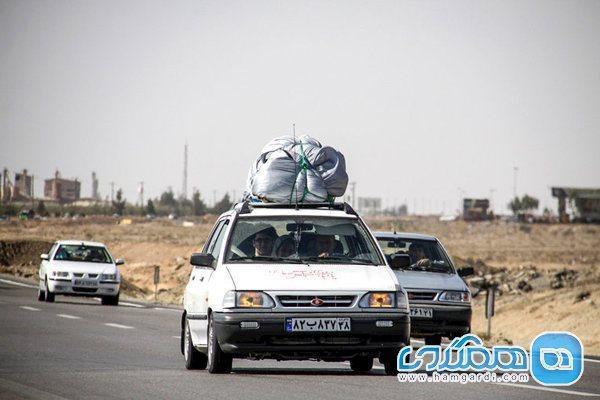 اعلام کاهش 51 درصدی سفرها در کشور