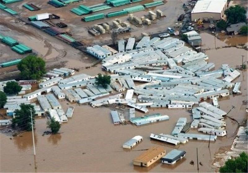 سیل به 19 هزار خانه مسکونی در ایالت کلرادو خسارت وارد کرد