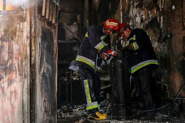 جزییات آتش سوزی در بیمارستان رازی اهواز