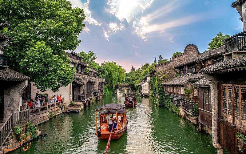 ووژن، شهر آبی چین با قدمتی 1300 ساله!