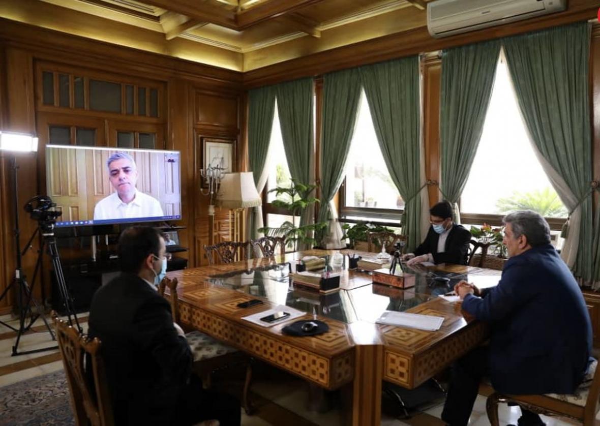 جزئیات گفت وگوی شهردار تهران و لندن