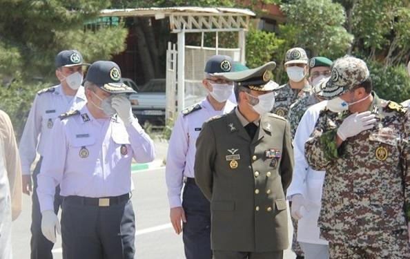 بازدید فرمانده کل ارتش از دانشگاه پدافند هوایی