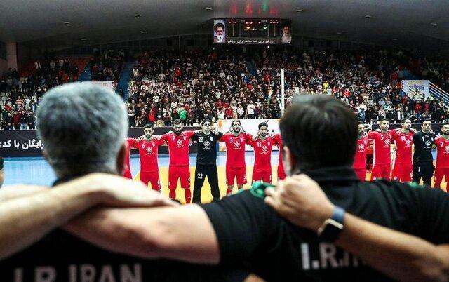 شروع تمرین تیم ملی فوتسال در پایتخت