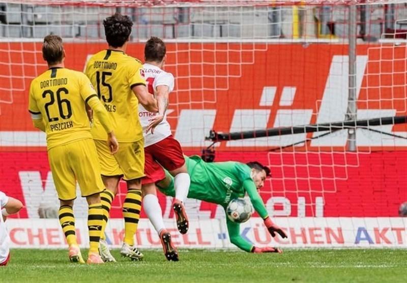 بوندس لیگا، پیروزی سخت دورتموند مقابل فورتونا دوسلدورف با گلزنی هالند در آخرین لحظه