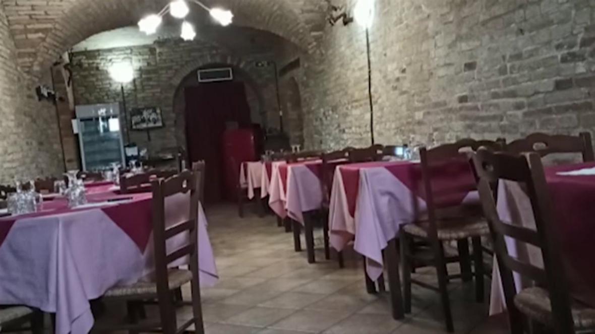 آجر شدن نان رستوران ها و هتل ها در ایتالیا با شیوع کرونا
