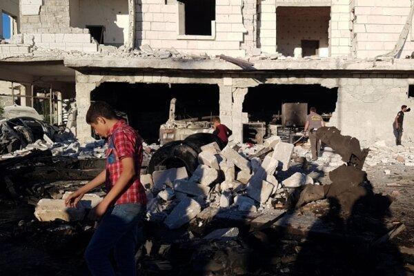 انفجار در شمال غرب سوریه پنج کشته و دهها زخمی برجای گذاشت