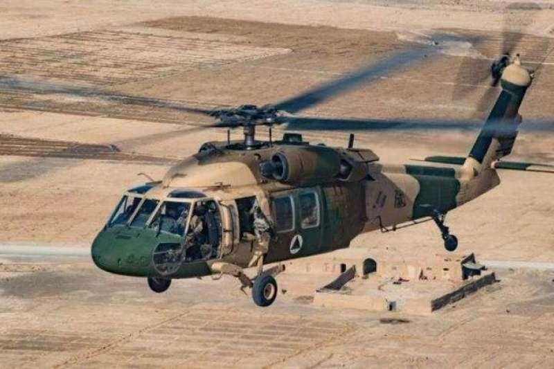 بالگرد ارتش افغانستان در استان هلمند سقوط کرد