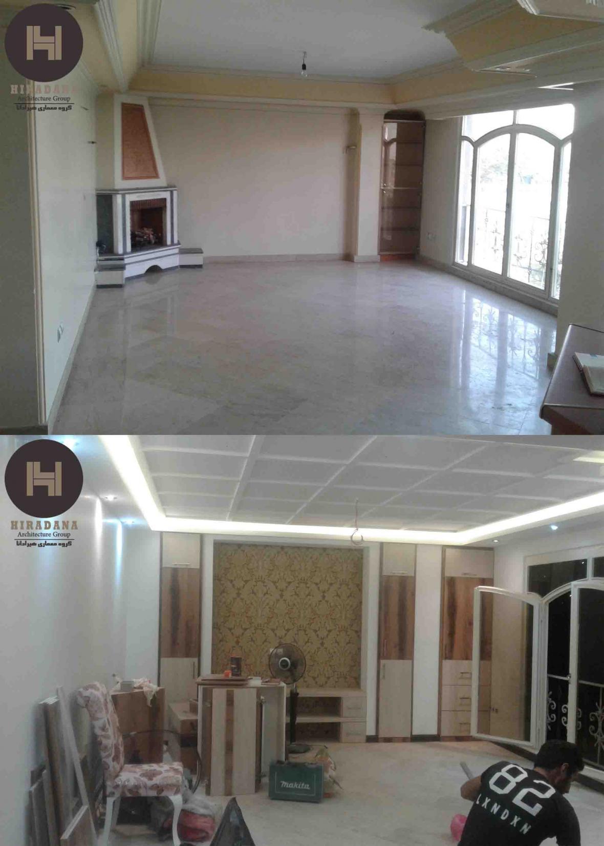 فرایند اجرای بازسازی ساختمان