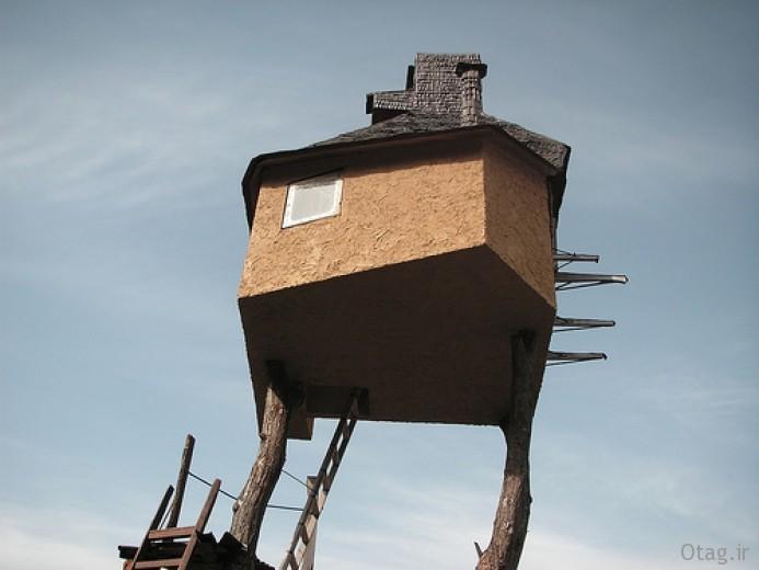 آنالیز طراحی و ساخت خانه درختی گوشه عزلت اثر استاد فوجیموری