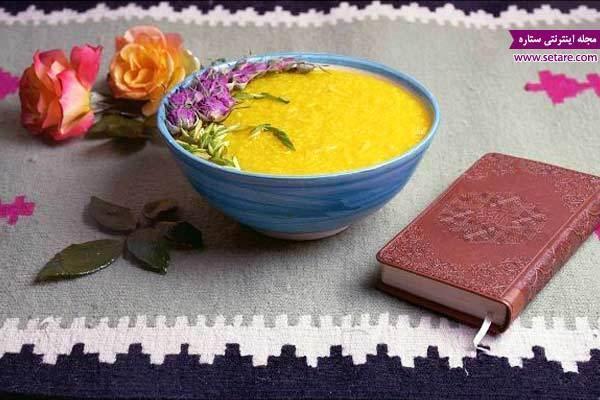دستور پخت شله زرد نذری