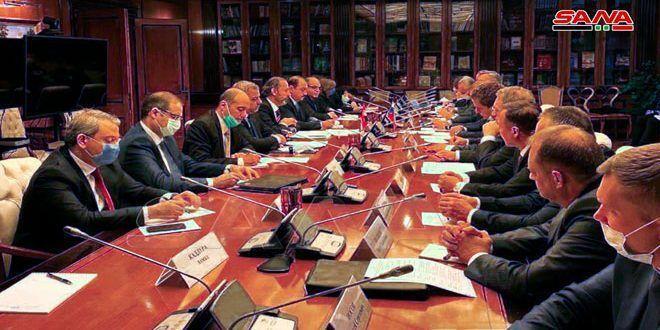 سوریه و روسیه مصمم به افزایش مبادلات تجاری