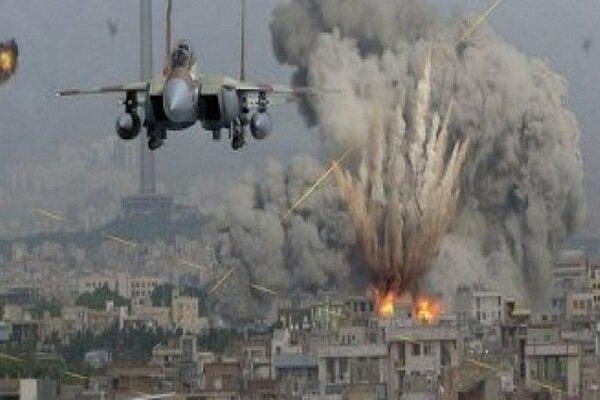 تداوم حملات ددمنشانه جنگنده های سعودی به الجوف و مأرب یمن