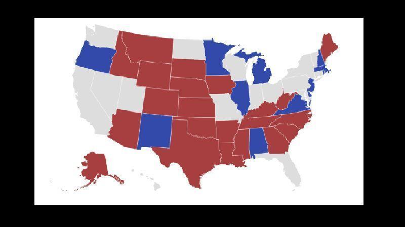 خبرنگاران فزونی در سنای آمریکا با کدام حزب خواهد بود؟