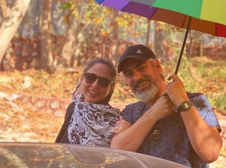 (فیلم و عکس) شایعه واقعی شد؛ مهدی پاکدل و رعنا آزادی ور ازدواج کردند