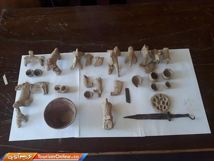 32 شی تاریخی در کرمان کشف شد