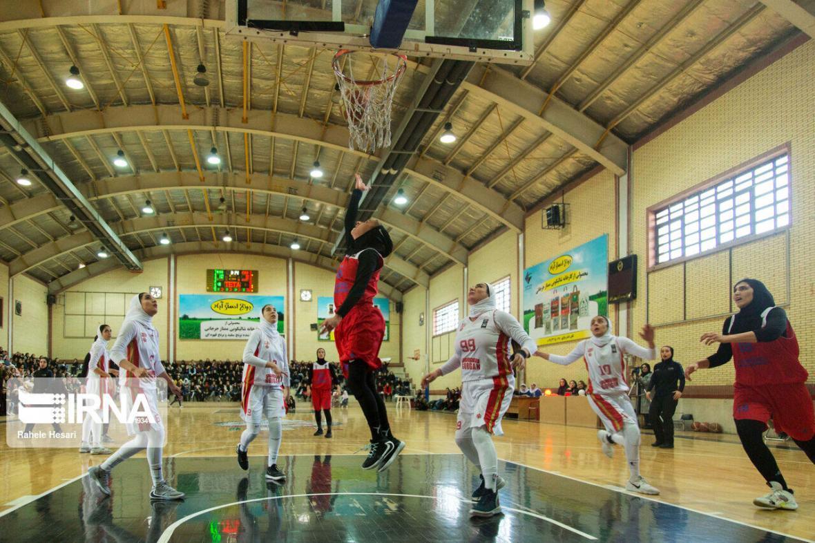 خبرنگاران فزونی بهمن برابر سینام در لیگ برتر بسکتبال زنان