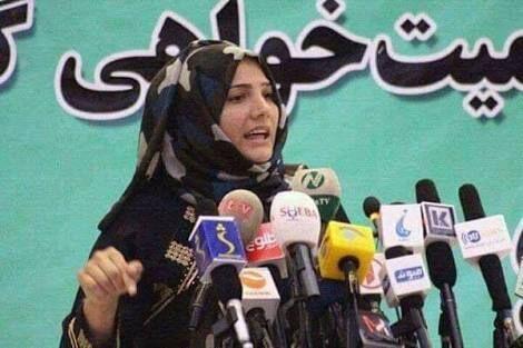 خبرنگاران فرشته کوهستانی فعال عرصه حقوق زنان در افغانستان ترور شد