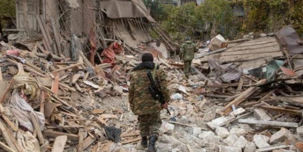 انفجار مین های جنگ قره باغ 14 کشته بر جا گذاشته است