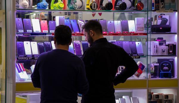قیمت انواع گوشی امروز 20 دی ماه