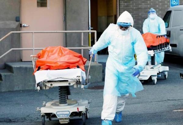 آمریکا رکورد جدید مرگ ومیر کرونا را ثبت کرد