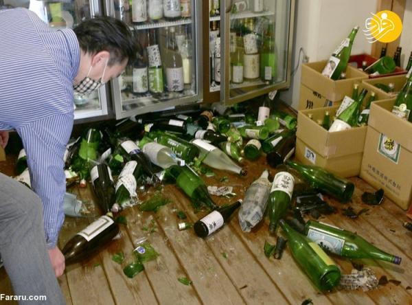 (تصاویر) زلزله 7.3 ریشتری در ژاپن