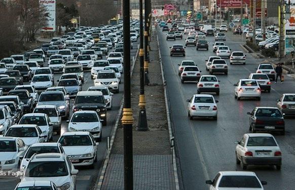 ترافیک بین تهران و قزوین خبرنگاران