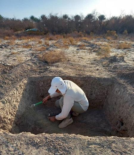 شروع کاوش های باستان شناسی محوطه کنارصندل جیرفت پس از 13 سال