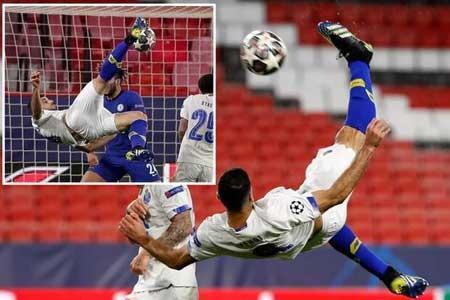واکنش طارمی به انتخابش بعنوان زننده برترین گل لیگ قهرمانان اروپا