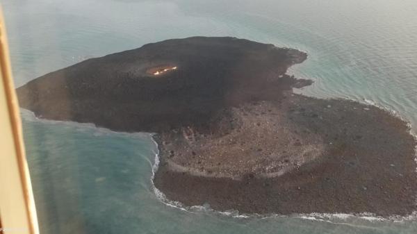 آتشفشان گِلی در دریای خزر فروکش کرد