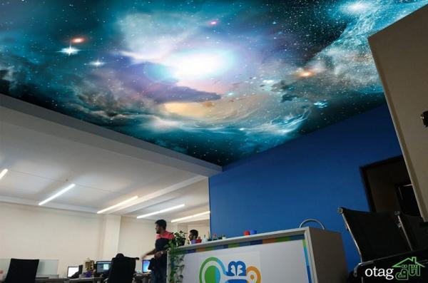 ویکاور نسل آینده پوشش های تزیینی سه بعدی (کف ، دیوار و سقف)
